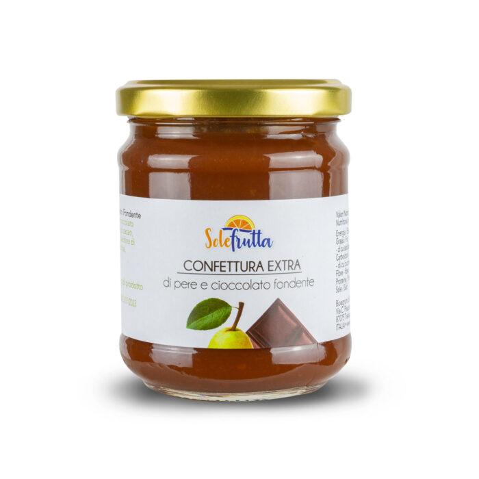 Confettura extra di pere e cioccolato fondente