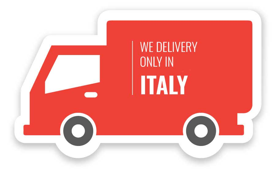 Delivery only in Italy