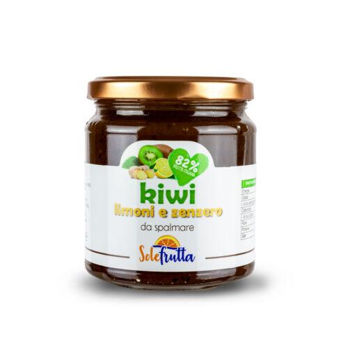 Confettura extra di kiwi, imoni e zenzero