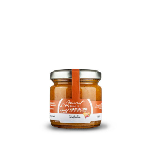 Gourmet - Salsa di clementine e peperoncino piccante - 110g