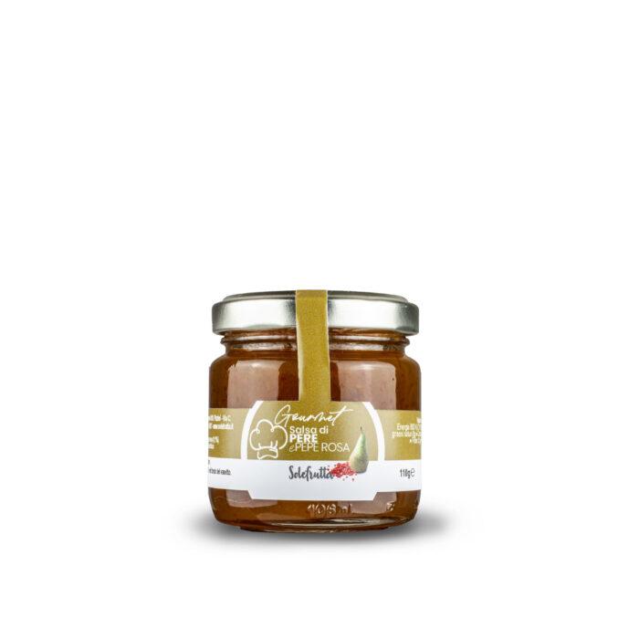 Gourmet - Salsa di pere e pepe rosa - 110g