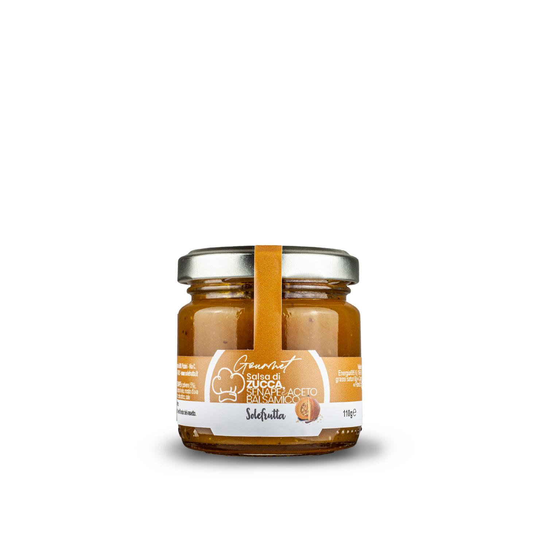 Gourmet - Salsa di zucca, senape e aceto balsamico - 110g