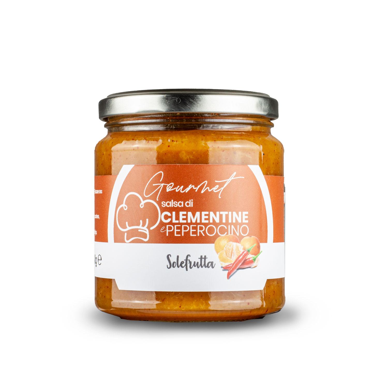 Gourmet - Salsa di clementine e peperoncino piccante - 340g
